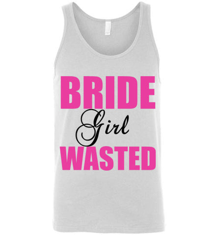 Bride Girl Wasted Unisex Tank Top