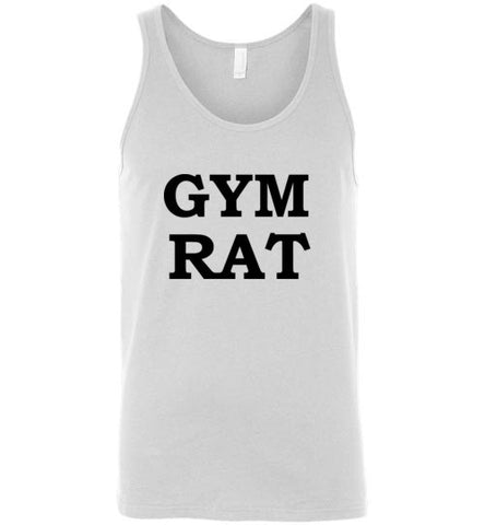 Gym Rat Unisex Tank Top