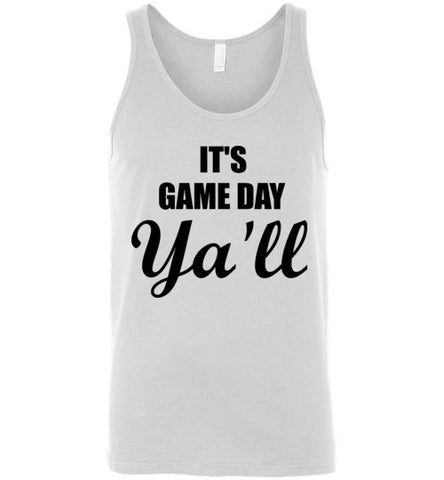 It's Game Day Ya'll Unisex Tank Top