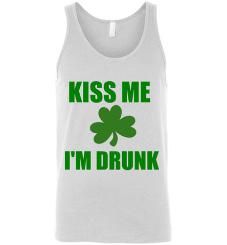 Kiss Me I'm Drunk Unisex Tank Top