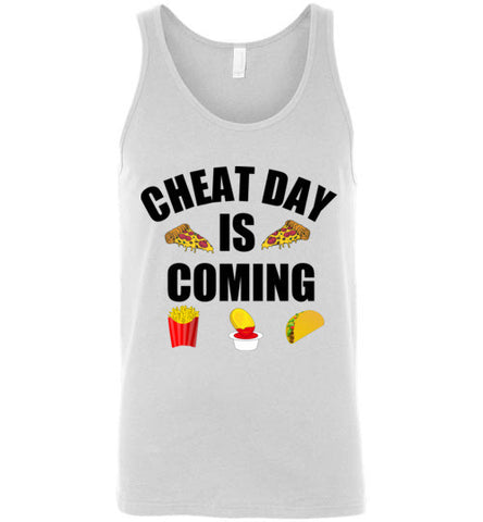 Cheat Day is Coming Unisex Tank Top