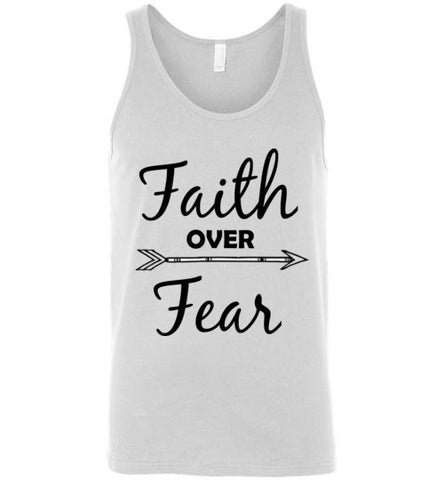 Faith Over Fear Unisex Tank Top