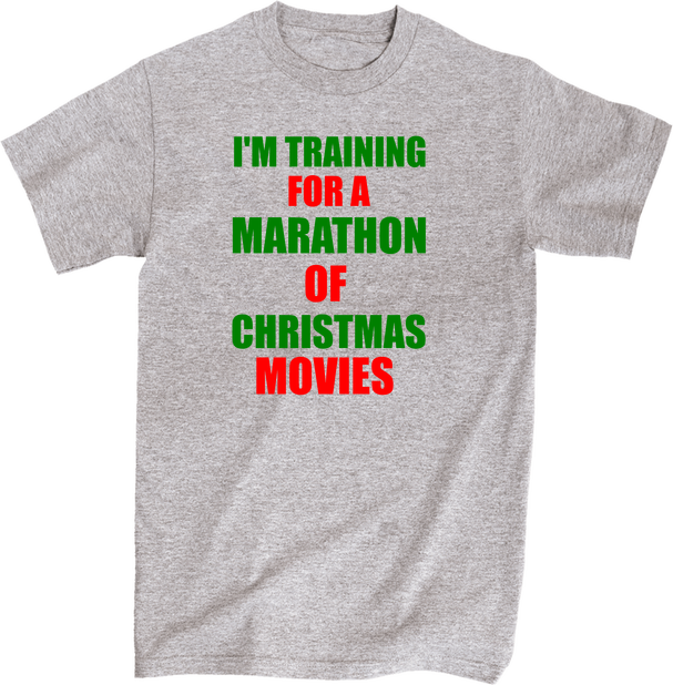 I'm Training for a Marathon of Christmas Movies