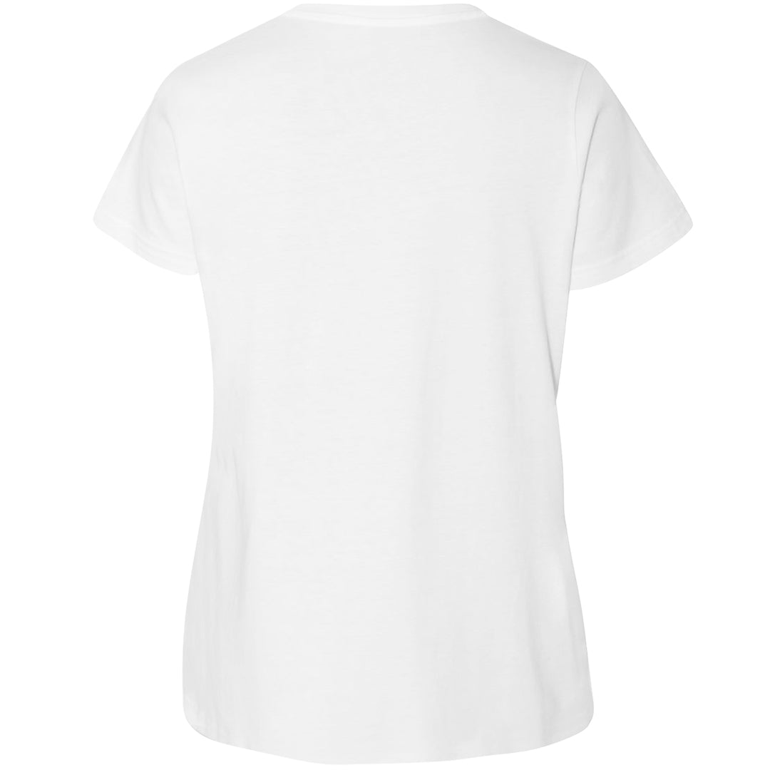 Basic Women's LAT Curvy Plus Size Scoopneck Tee