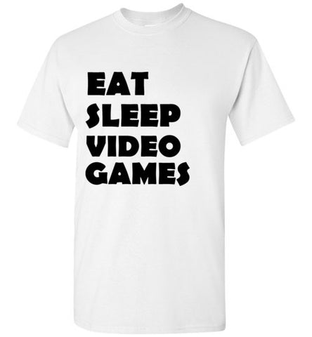 Eat Sleep Video Games T_Shirt