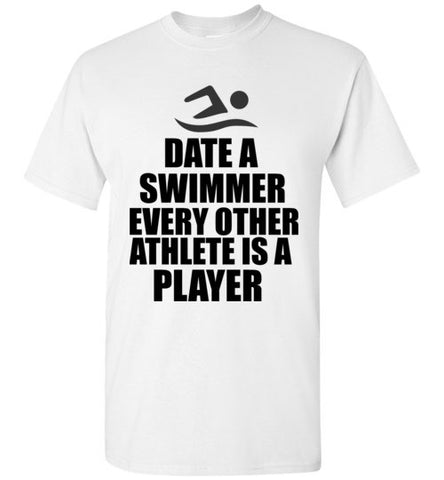 Date a Swimmer Every Other Athlete is a Player