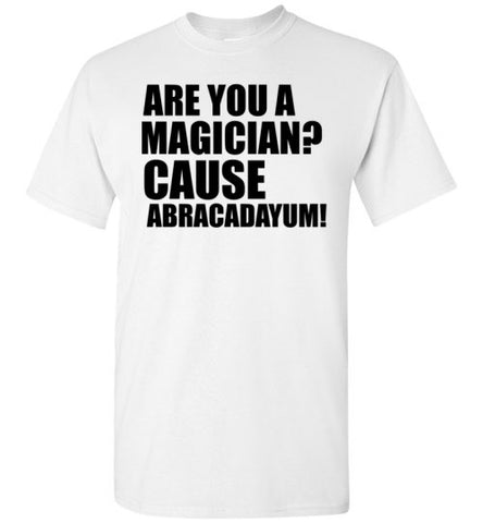 Are You a Magician Cause Abracadayum