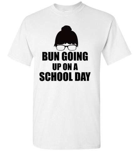 Bun Going Up on a School Day