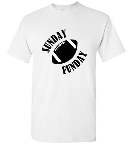 Sunday Funday Football T-Shirt