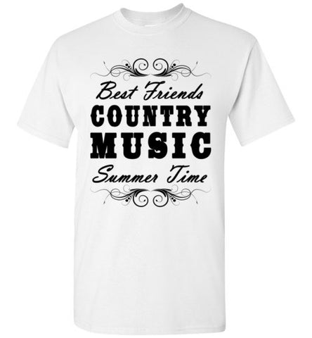 Best Friends Country Music Summertime