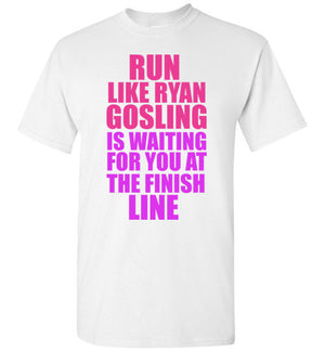 Run Like Ryan Gosling is Waiting for You at the Finish Line