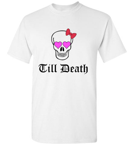 Till Death Do Us Part (Pink Eyes and Bow)
