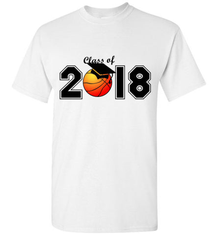 Class of 2018 Basketball T-Shirt