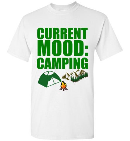 Current Mood Camping T-Shirt