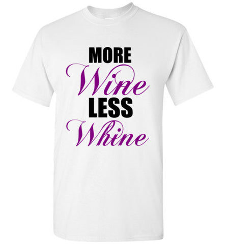 More Wine Less Whine