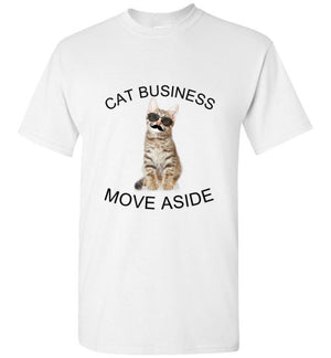 CAT BUSINESS MOVE ASIDE