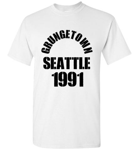 Grungetown Seattle 1991