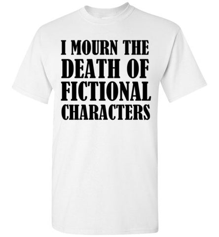 I Mourn The Death of Fictional Characters