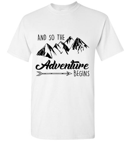 And So The Adventure Begins T-Shirt