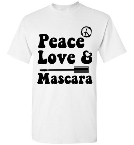 Peace Love Mascara T-Shirt