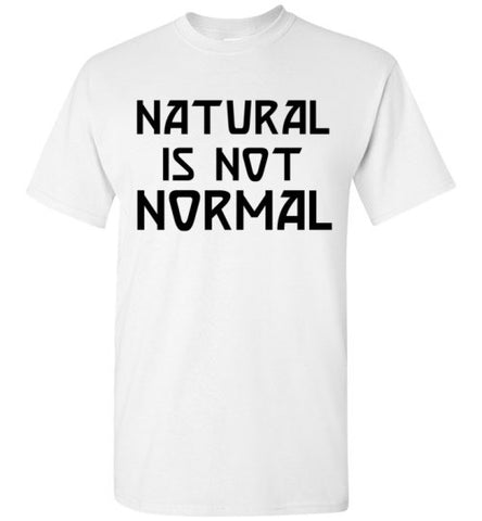 Natural is not Normal