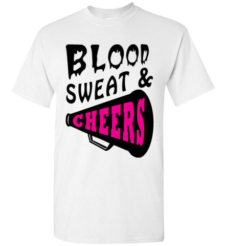 Blood Sweat and Cheers