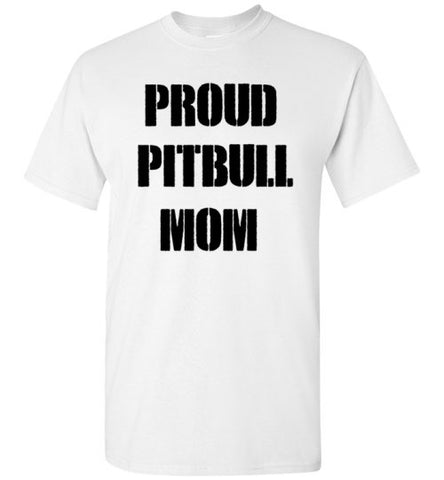 Proud Pitbull Mom