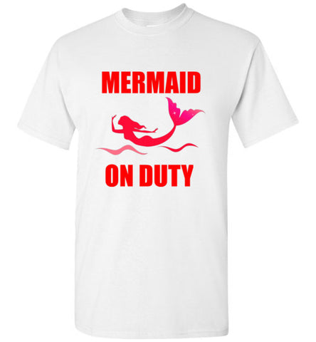Mermaid on Duty T-Shirt