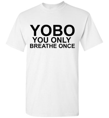 Yobo You Only Breathe Once Swim Shirt