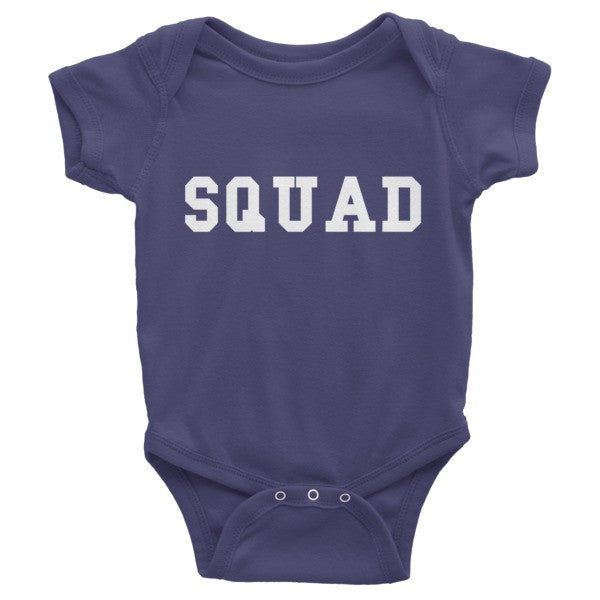 Squad Infant short sleeve one-piece