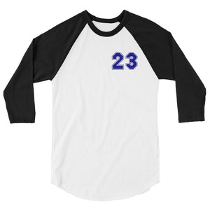 Number 23 One Tree Hill Scott 3/4 sleeve raglan shirt