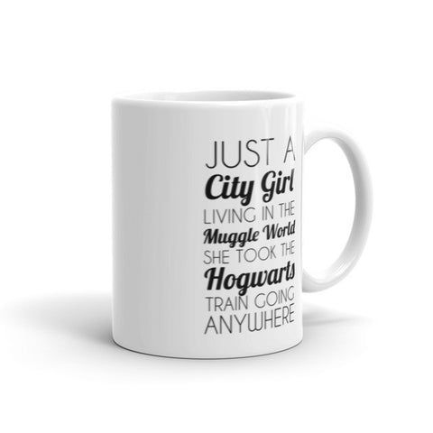 City Girl Muggle World Mug