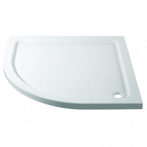 Offset Quadrant Slimline Shower Tray