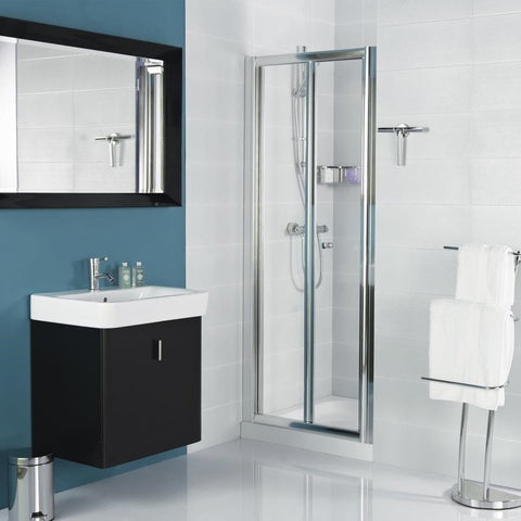 Bi-Fold Door Shower Enclosure