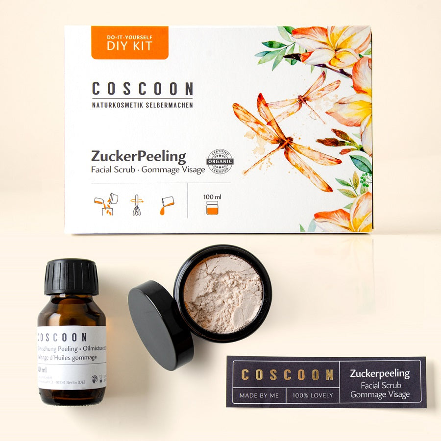 Mini DIY-Kit: ZuckerPeeling