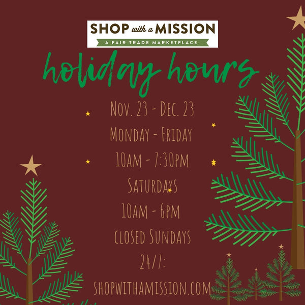 Flagship Store Holiday Hours
