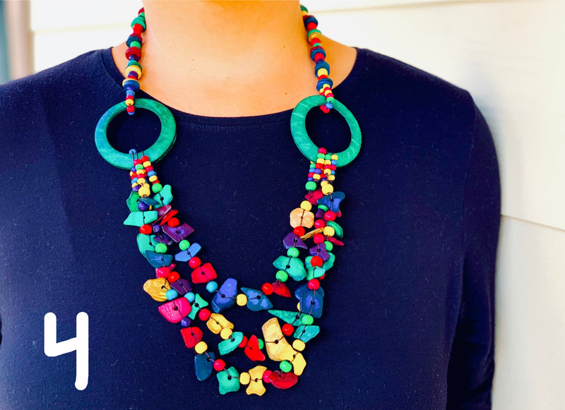 Necklace - Coco & Beads Long