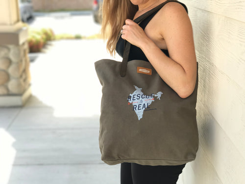 Rescue is Real Tote Bag