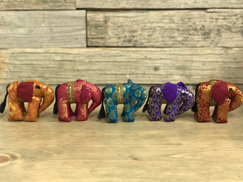 Small Sari Elephants