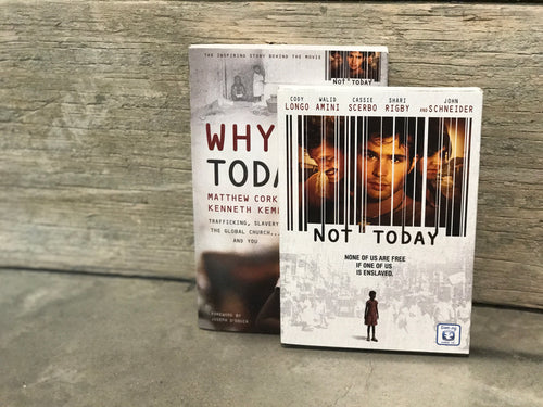 Why Not Today Book & DVD Set
