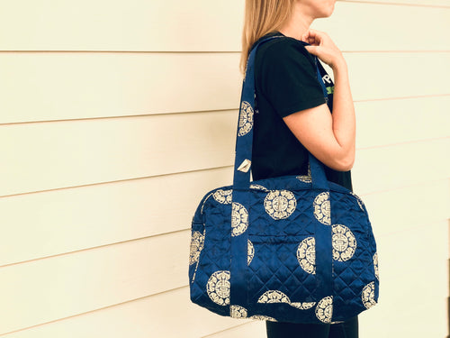 Large tote/diaper bag - brocade