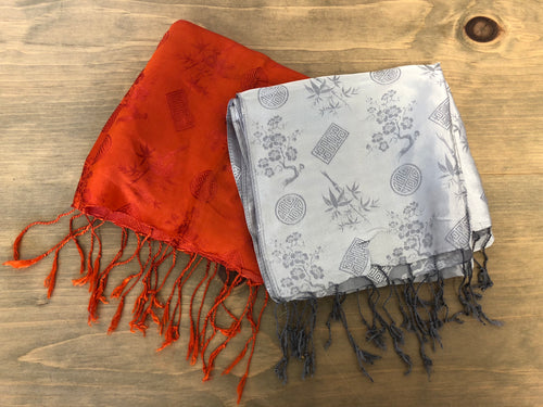 Chinese Brocade Scarf