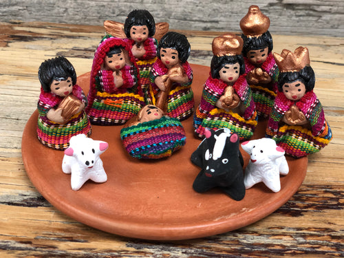 Ceramic Nativity Set - fabric outfits sm
