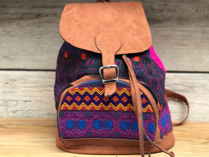 Guatemalan mini backpack - MORE COLORS