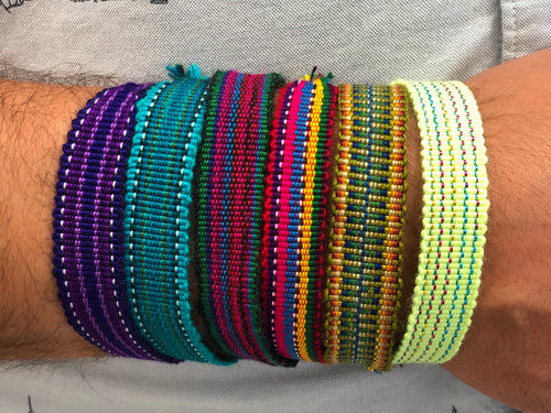 Woven Friendship Bracelets - Set of 12