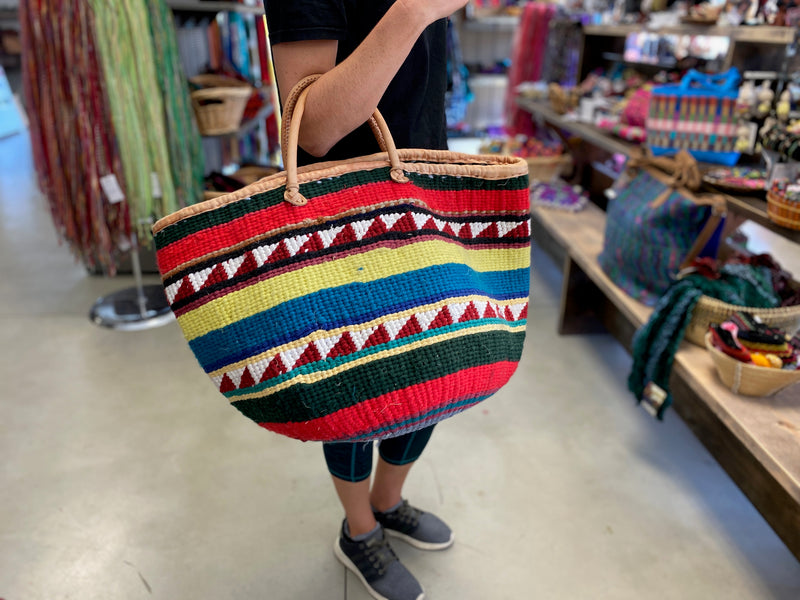 XXL Wool Basket Purse