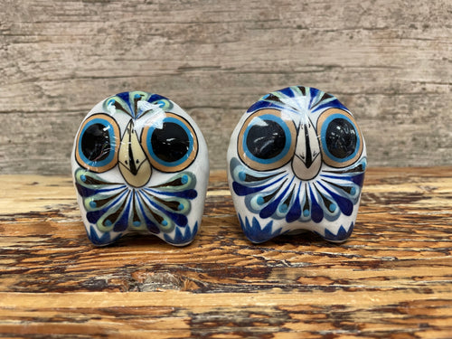 Ceramic salt or pepper shakers