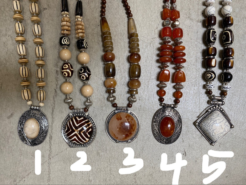 India Statement Necklace - MANY OPTIONS