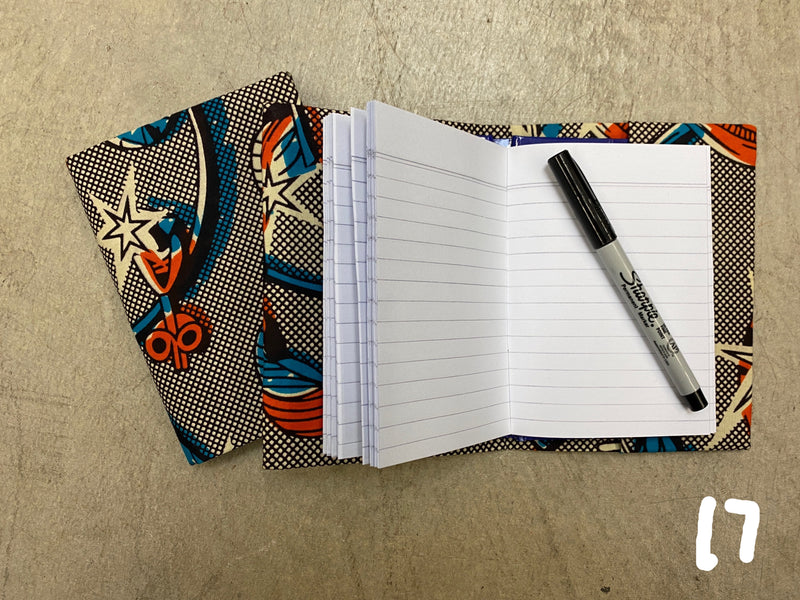 Kitenge  Notebooks - small