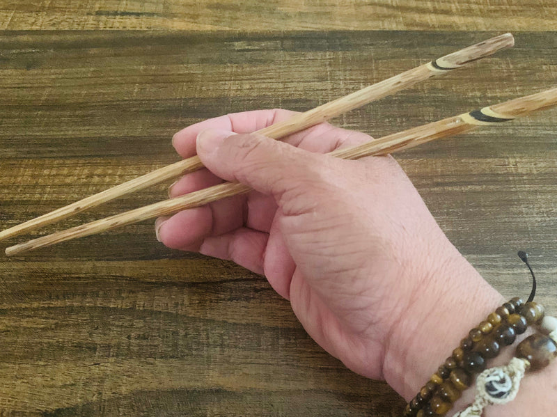 Palm Tree Chopsticks - inlay